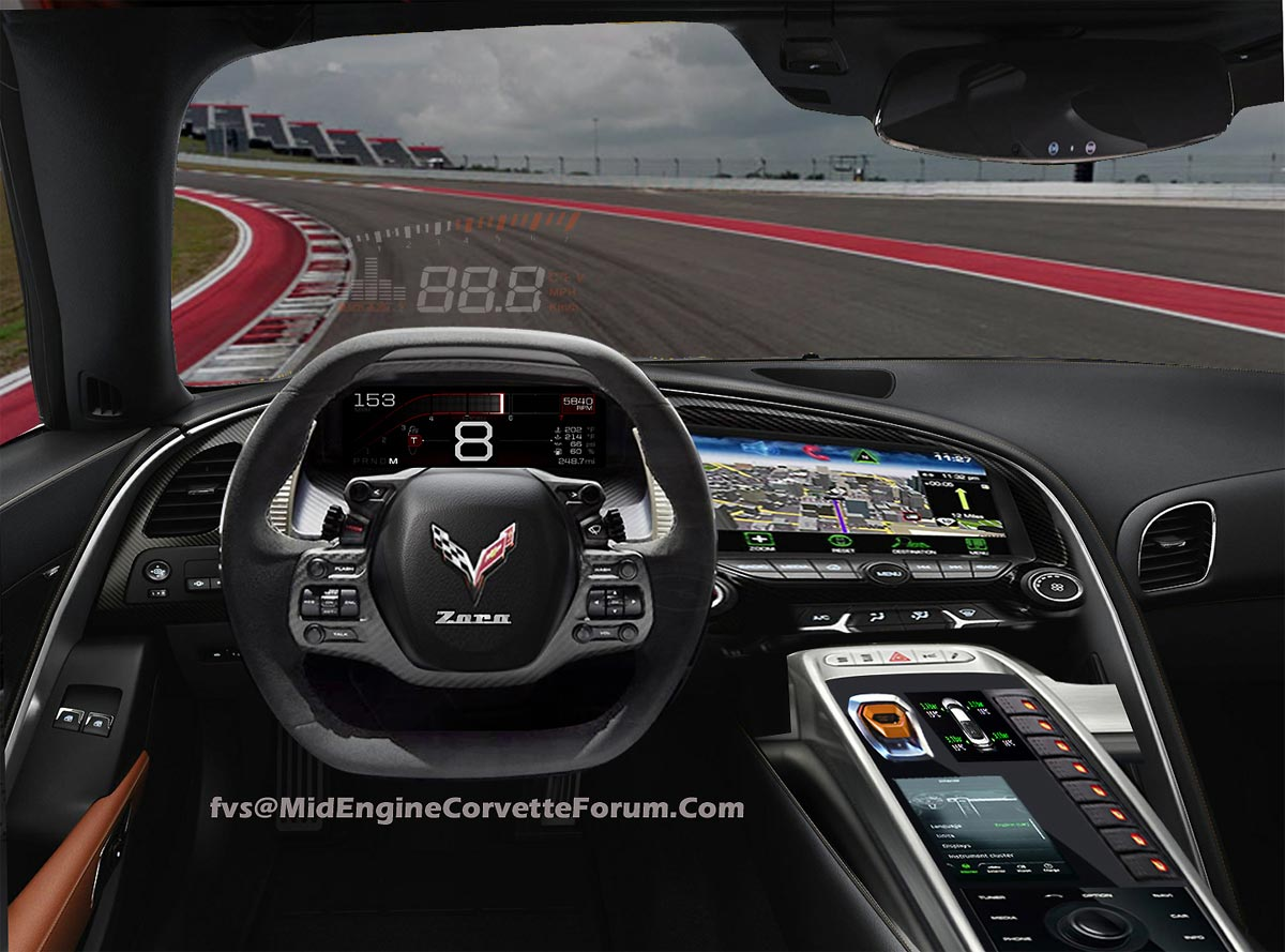 [PIC] First C8 Mid-Engine Corvette Interior Render by FVS ...