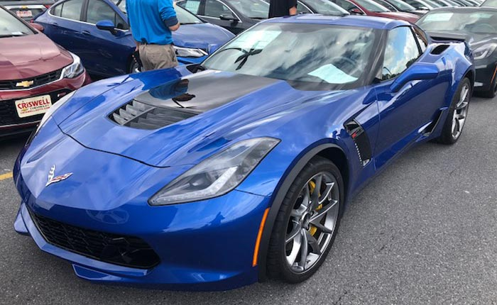 [PICS] First Look at the New Elkhart Lake Blue on a 2019 Corvette
