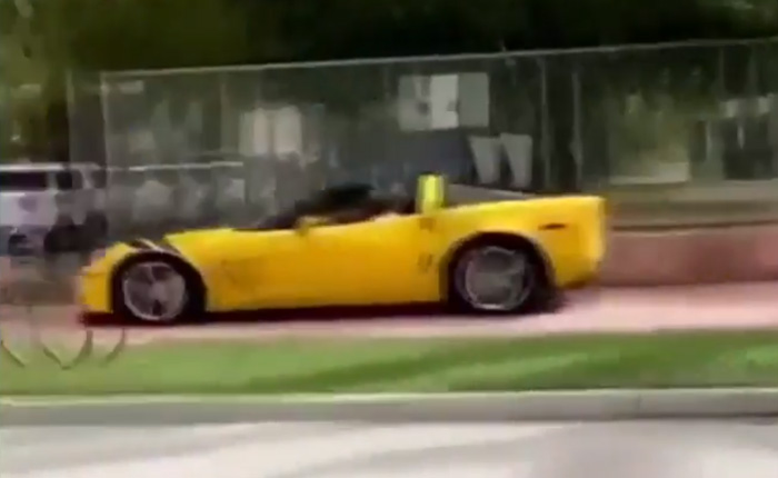 [STOLEN] Corvette Theives Drive on the Sidewalk to Avoid Miami Beach Police