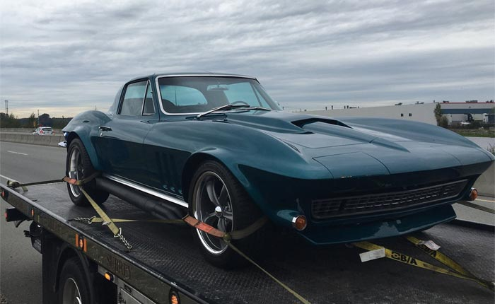 [PIC] 1966 Corvette Impounded in Canada for Excessive Speeding