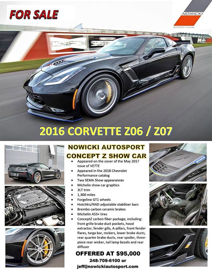 Nowicki Autosport's ConceptZ for Sale