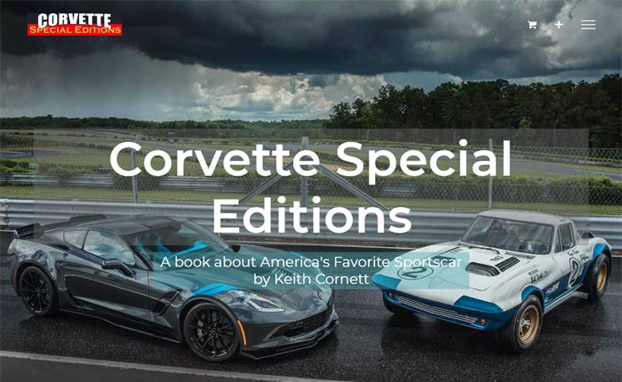 Thanks For Making Corvette Special Editions a #1 Best Seller on Amazon!