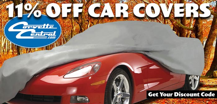 Save 11% Off Car Covers at Corvette Central