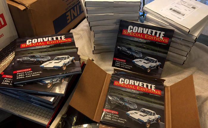 These are the Corvettes Featured in My New Book on Corvette Special Editions