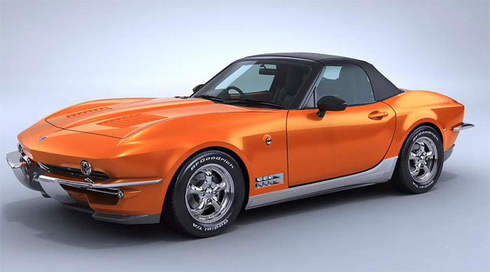 Japanese Automaker Mitsouoka Pays Tribute to C2 Corvette with These Mazda Miata Conversions