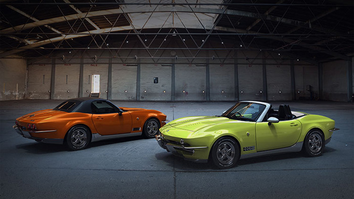 Japanese Automaker Mitsouoka Pays Tribute to C2 Corvettes with These Mazda Miata Conversions