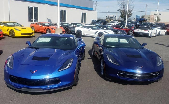 [PICS] Kerbeck Compares New Elkhart Lake Blue Metallic to Admiral Blue