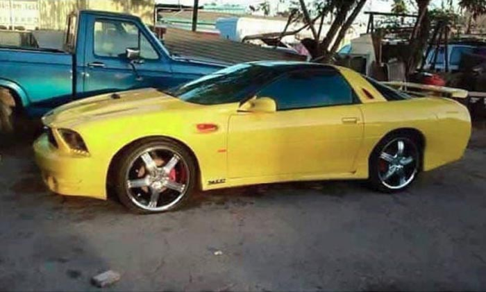 Mustang and C5 Corvette Mashup is the Most Hideous Car You Will See This Halloween