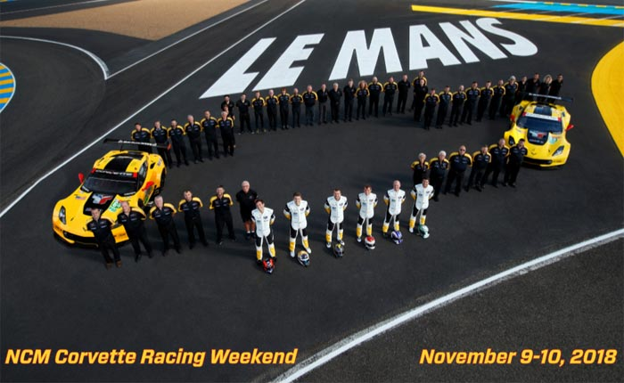 Accompany Corvette Racing for a fun weekend at the AACA Museum on 9-10. November