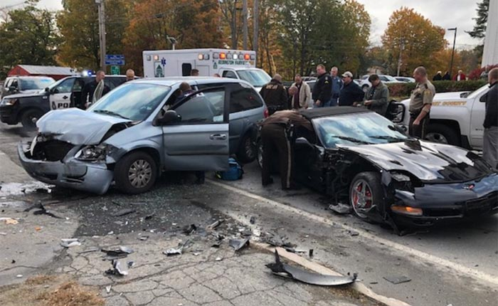 [ACCIDENT] Police Pursuit of Stolen Corvette Ends in Head-On Collision