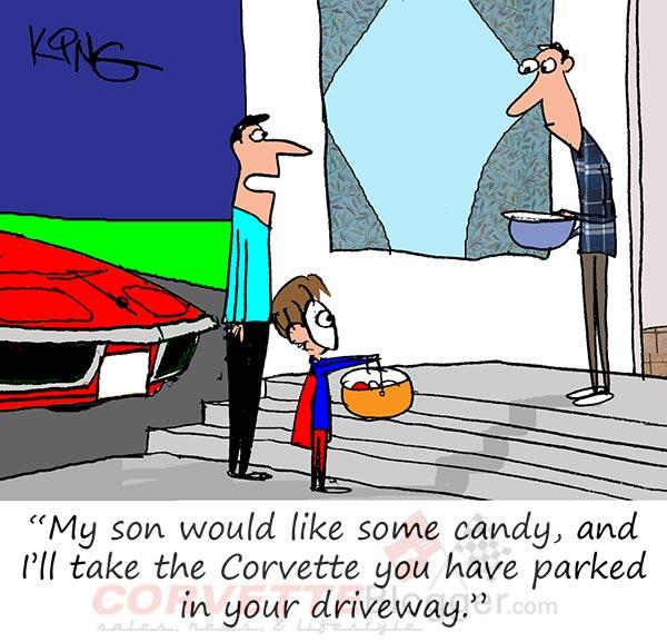 Saturday Morning Corvette Comic: Hey, That C3 Corvette is Some Treat!