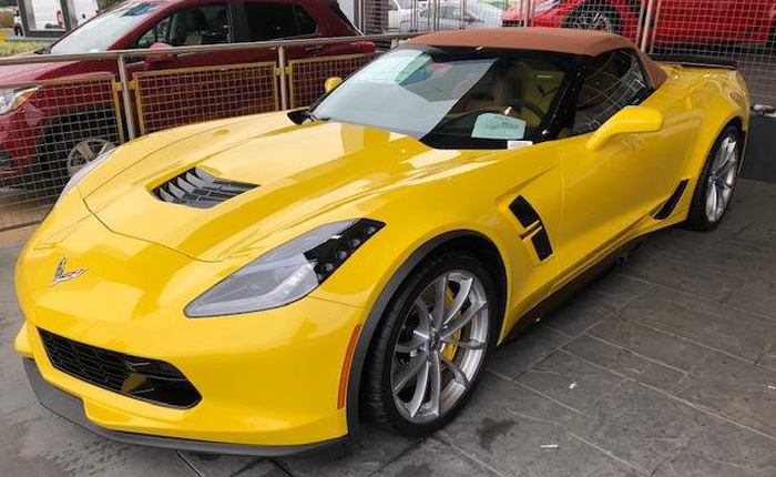 Corvette Delivery Dispatch with National Corvette Seller Mike Furman for Oct. 28th