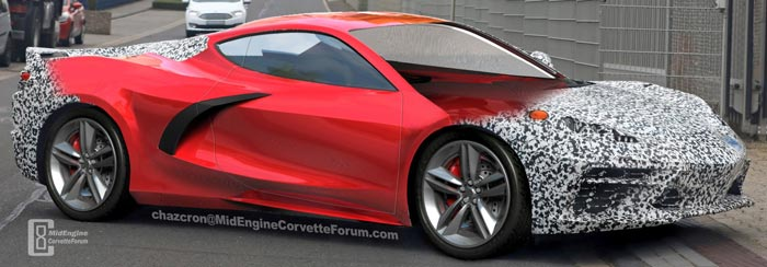 [PIC] C8 Mid Engine Render By Chazcron is a Work in Progress