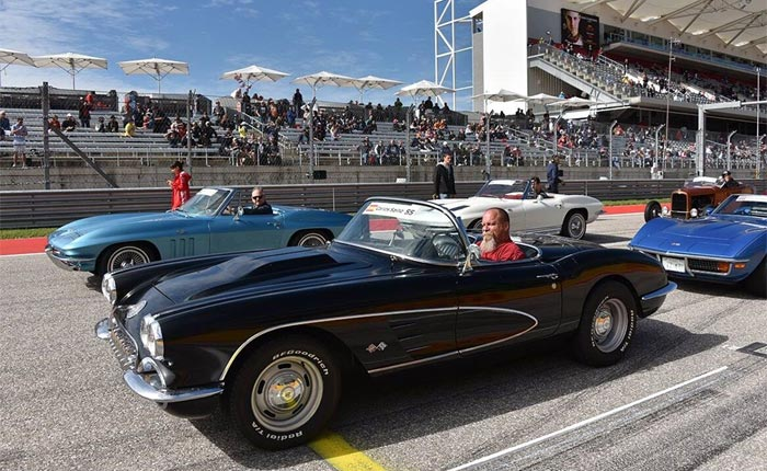 Vintage Corvettes Steal the Show at US Grand Prix