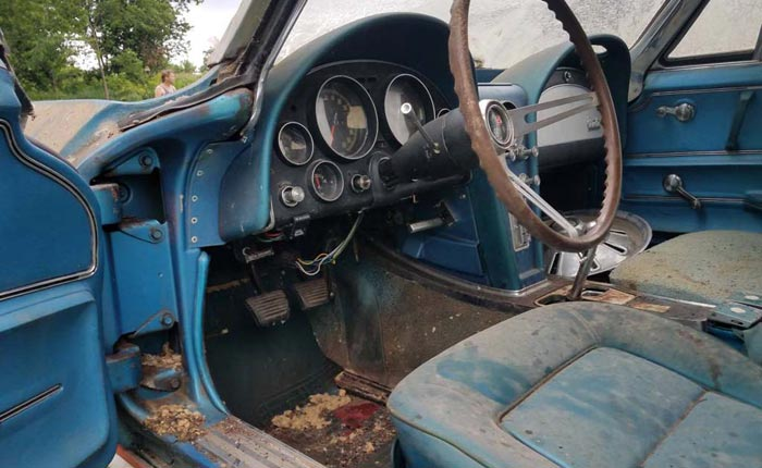 1965 Corvette Project Car Named Barny Needs a New Home