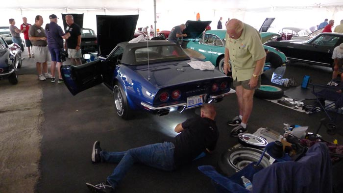 On the Campaign Trail with a 1972 Corvette: The NCRS Motor City Regional (Part 3)