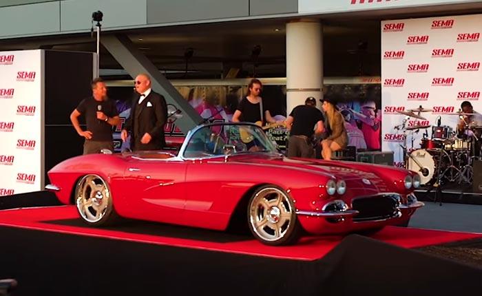 VIDEO] Dave Kindig's Custom 1962 Corvette at 2018 SEMA Show