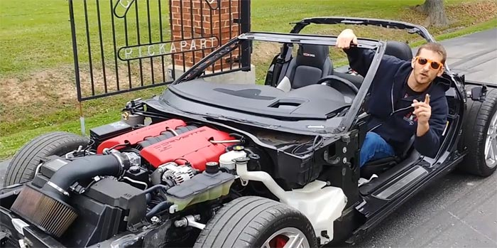 [VIDEO] LOL Sorry! There's a Lot Happening in this Corvette Z06 Kart Commercial