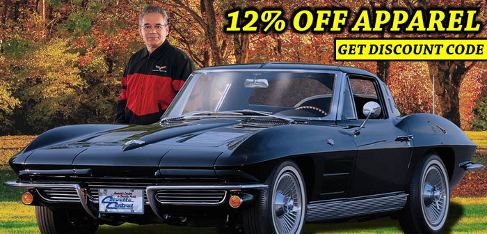 Save 12 Percent on Corvette Apparel at Corvette Central