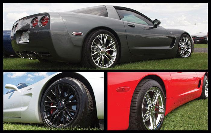 Corvette America Expands Replica Wheel Selection for 1988-2018 Corvettes