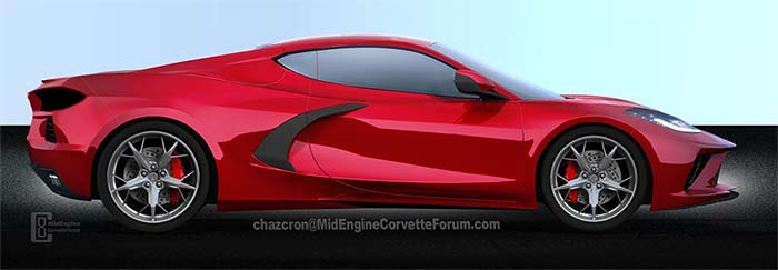 [PICS] Latest C8 Renders from Chazcron and the Mid Engine Corvette Forum