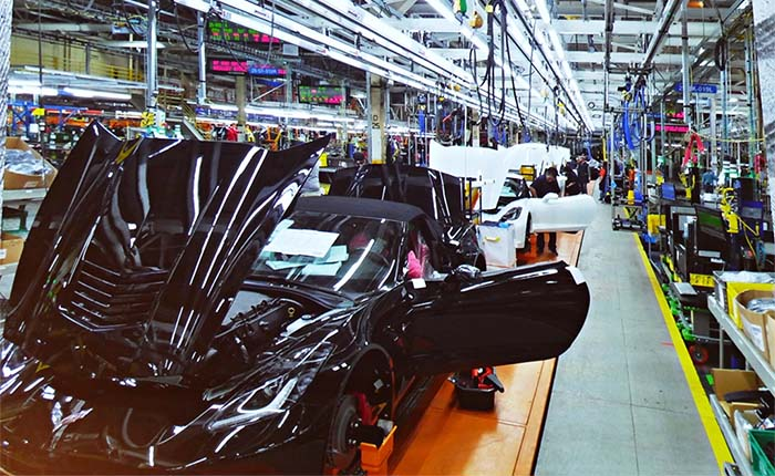 NCM Offering Exclusive Tours of the Corvette Assembly Plant During the NCM Bash