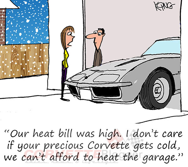 Saturday Morning Corvette Comic: If You're Cold, They're Cold