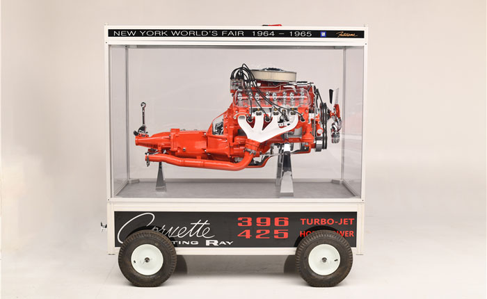 1965 396/425 Cutaway V8 Display to be Offered at Barrett-Jackson's 2019 Scottsdale Auction