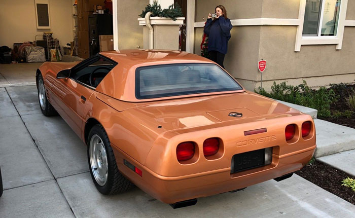 Corvettes on eBay: 1994 Copper Metallic Convertible