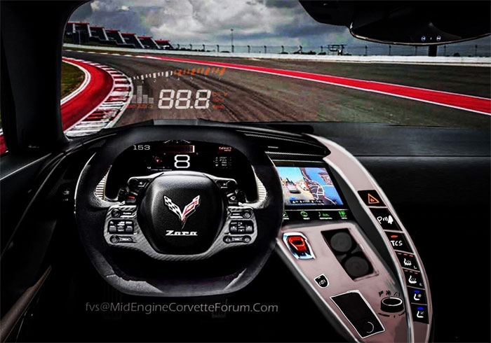 [PICS] FVS Has Another Go at Rendering the Interior of the C8 Mid-Engine Corvette