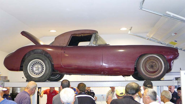 Former Briggs Cunningham 1960 Corvette Le Mans Race Car Headed to Amelia Island Auction