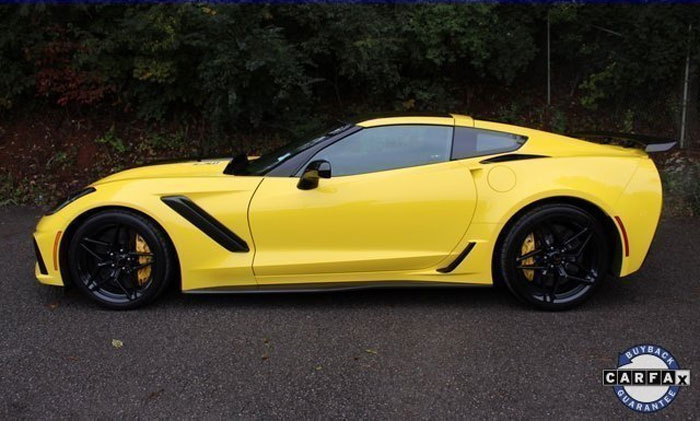 Corvettes for Sale: 2019 Corvette ZR1 Was Formerly Part of GM's ZR1 Test Fleet