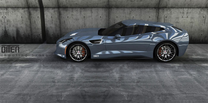 German Tuner Bitter is Building a Line of C7 Corvette Shooting Brakes