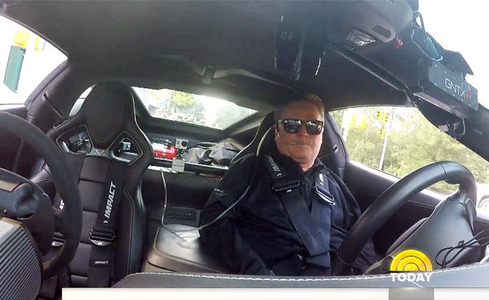 [VIDEO] Sam Schmidt Takes His Semi-Autonomous C7 Corvette for a Cruise in New York City