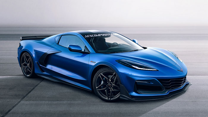 [PIC] ACS Composite Offers a New Render of the C8 Mid-Engine Corvette