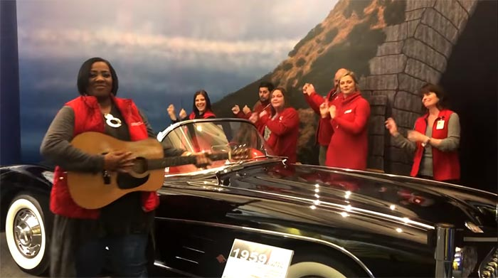 [VIDEO] The Corvette Museum's Awesome Staff is Wishing Us a Merry Christmas