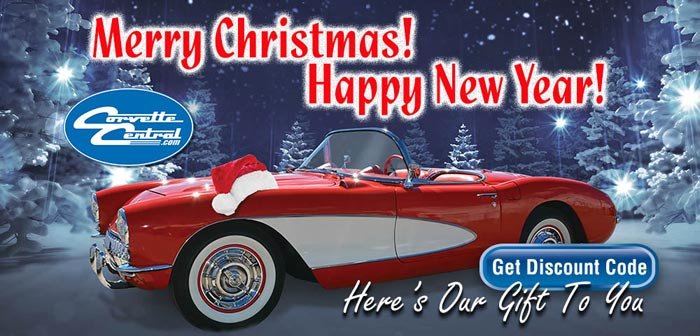 Season's Greetings From Corvette Central