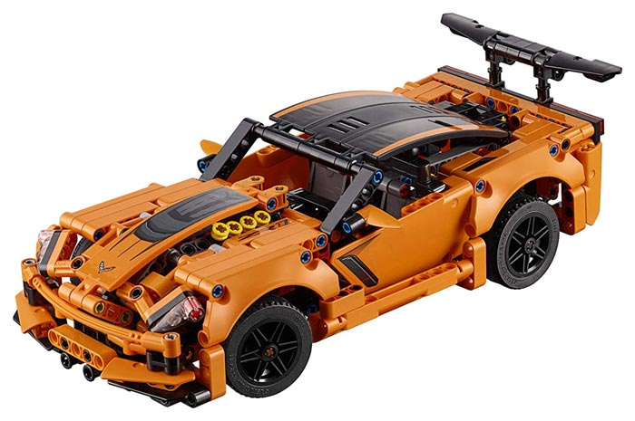 Amazon Lego Technic Chevrolet Corvette Zr1 42093 Building Kit 579