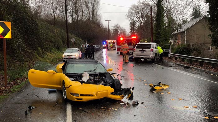 [ACCIDENT] C5 Corvette Involved in Two-Car Collision in Washington