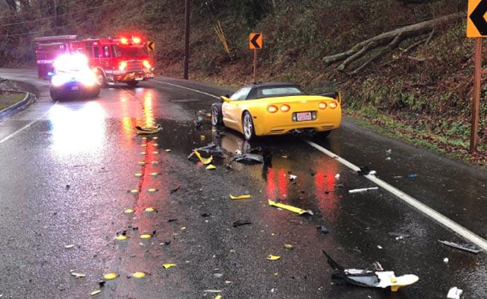 [ACCIDENT] C5 Corvette Involved in Two-Car Collision in Iowa