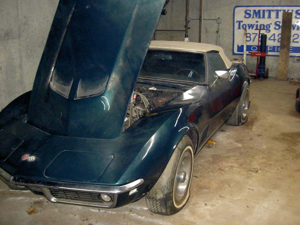 Corvettes On Craigslist Barn Find 1968 Corvette Convertible With Chevrolet Project Car 427 390 V8