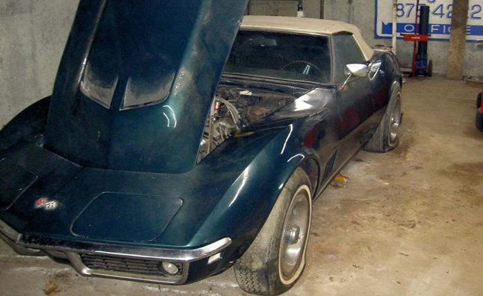 Corvettes On Craigslist Barn Find 1968 Corvette Convertible With 427 390 V8