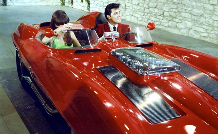 [VIDEO] When Elvis Drove the 1959 Stingray Racer in the Movie Clambake