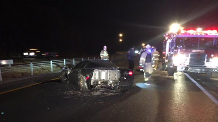[ACCIDENT] Corvette Driver Struck By Car After Exiting Vehicle Following a Crash