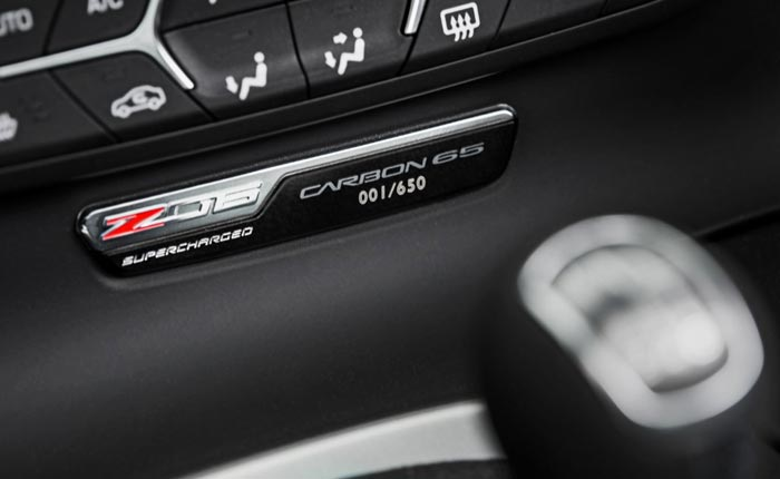 Europe Loves the 2018 Corvette Carbon 65 Editions