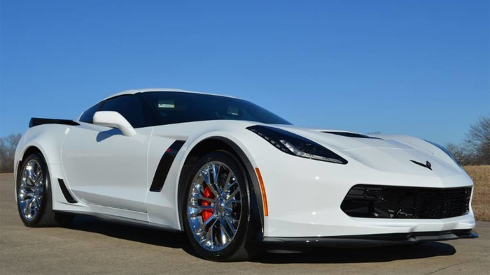 C7 Corvette Makes the List of 2017's Fastest Speeding Tickets Issued in Texas
