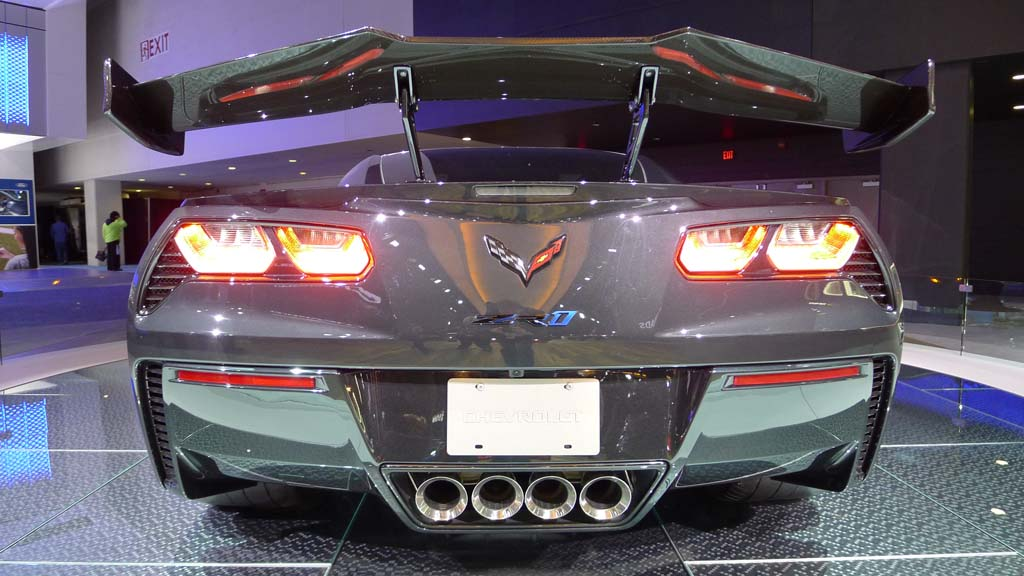 Gallery The 2019 Corvette Zr1 At The North American International
