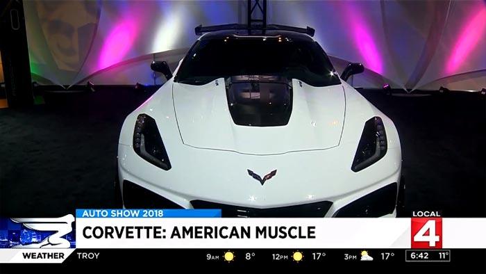 [VIDEO] Detroit Police Chief James Craig Reviews the 2019 Corvette ZR1