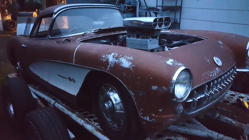 Corvettes on eBay: 1957 Fuelie Corvette Barn Find - Corvette: Sales ...
