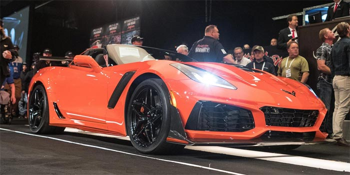 Rick Hendrick Buys the First Retail 2019 Corvette ZR1 for $925,000